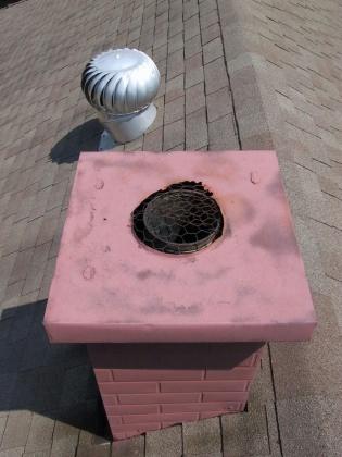 Water Heater Gas Vent Termination Internachi