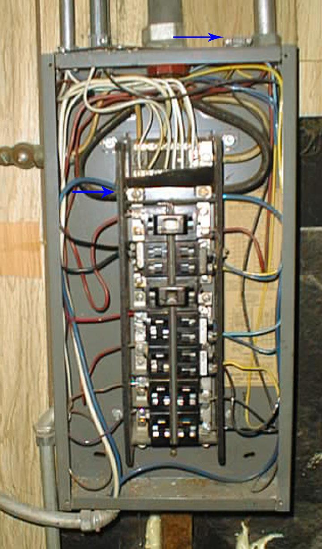 Pushmatic Circuit Breaker Box Wiring Archive Of Automotive Diagram Panel Bonding And Groundign On Bulldog Internachi Rh Nachi Org