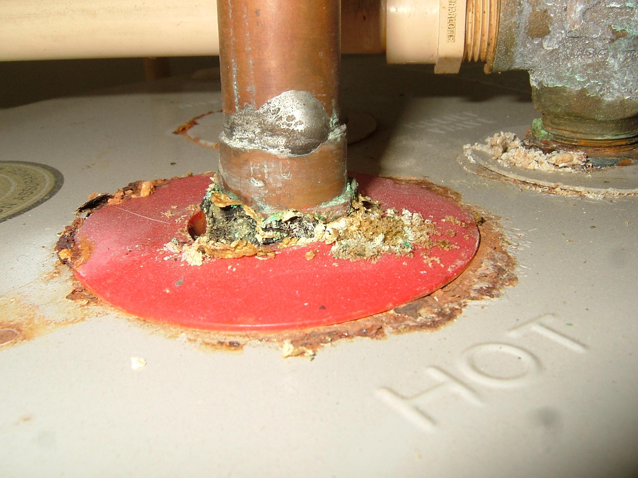 Copper Pipe Corrosion Internachi