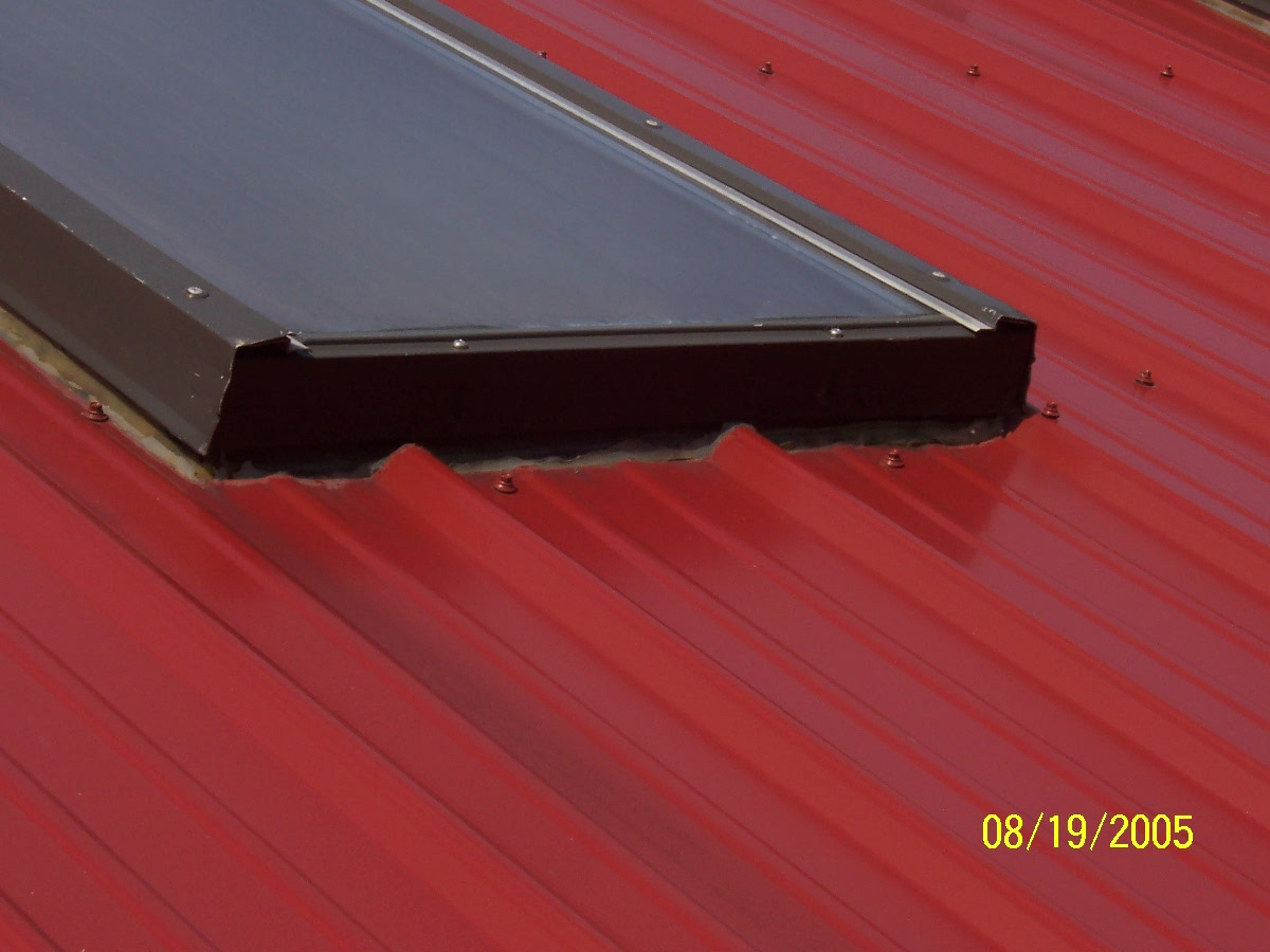 Metal Roof And Skylights