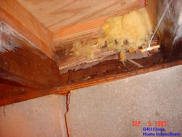 Rotten Rim Joist Int L Association Of Certified Home