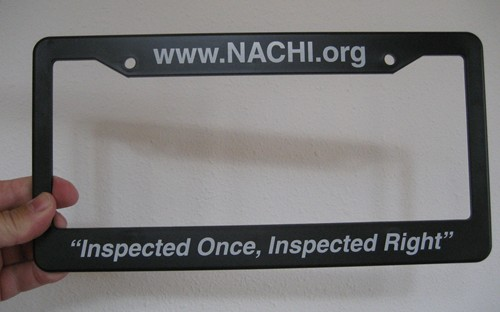 free internachi license plate covers only order if you are going to