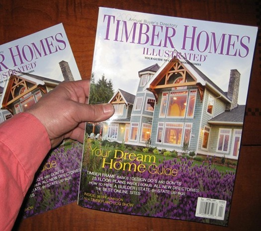 Internachi Featured In Timber Homes Illustrated 2007