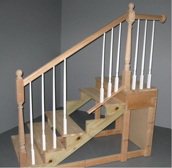 decorative wood railing sytem for indoor stairsfloor.htm internachi s advanced tips for inspecting stairways and sample  inspecting stairways