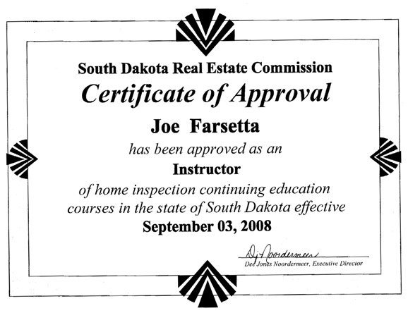 how to become a hud home inspector