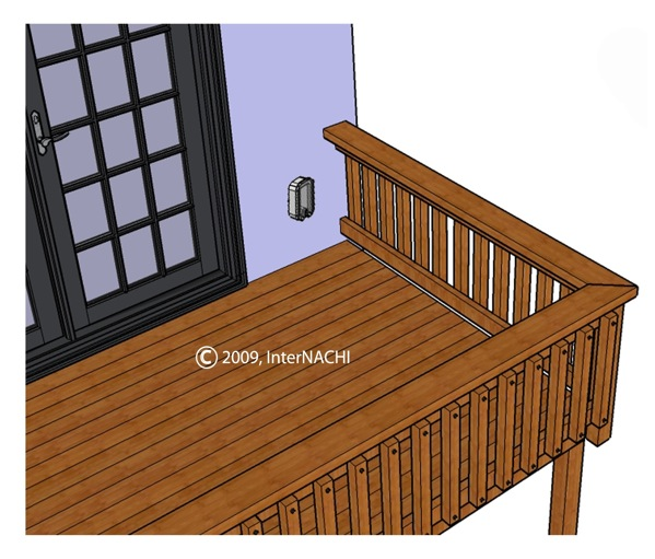 deck receptacles int l association of certified home inspectors