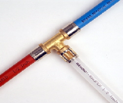 Polybutylene for inspectors internachi for Pex vs copper water pipes