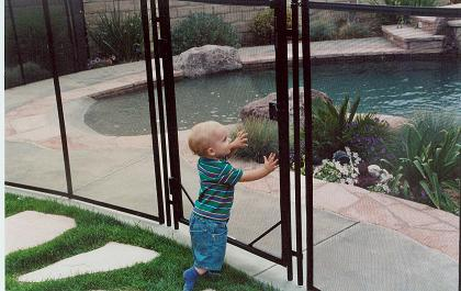 Photo courtesy of Guardian® Pool Fence Systems
