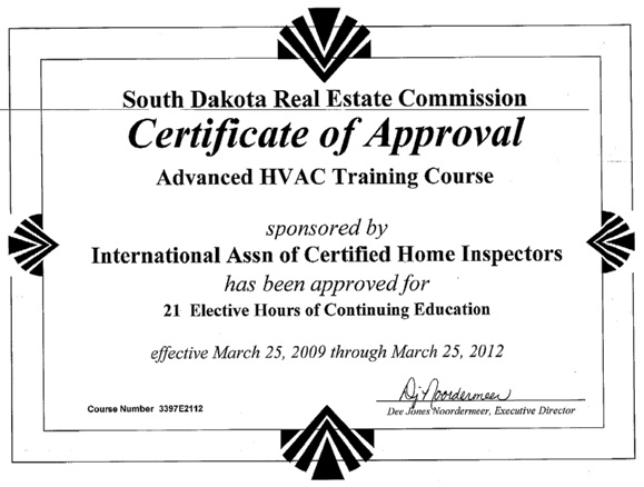 How to Become a Home Inspector in South Dakota - InterNACHI