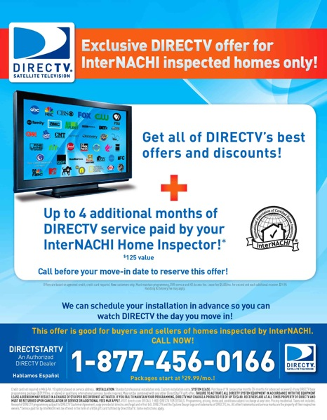 New 2009 offer: InterNACHI members' clients get $125 visa gift ...