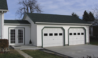 Attached garage fire containment internachi for Attached garage with living space above