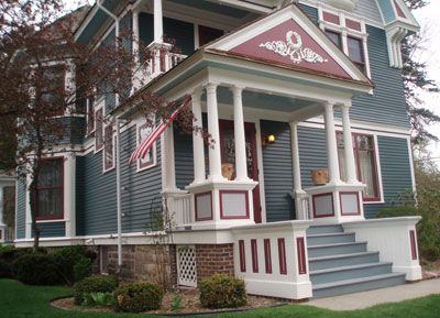 Build  Dream House on Historic Front Porch Builders Dublin Front Porch Apr Their Ends