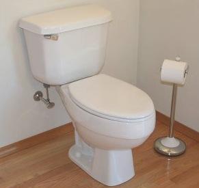 Standard gravity toilet