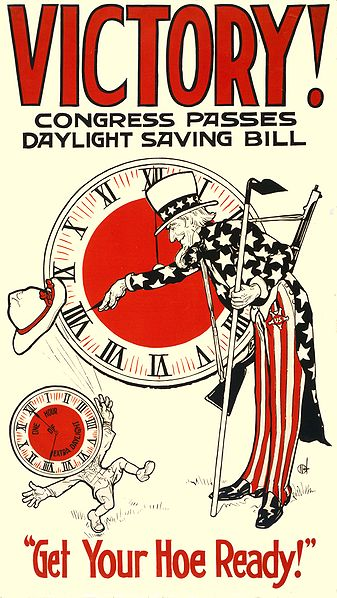 Daylight Saving Time was contraversial when it was first enacted by Congress