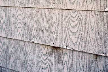 Asbestos Cement Siding Inspection