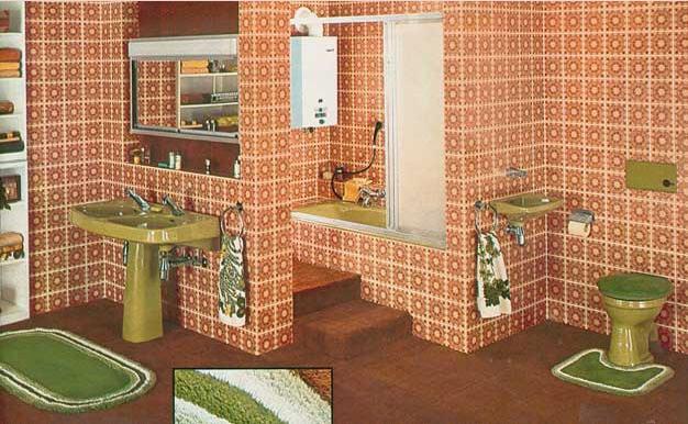Baño alfombrado