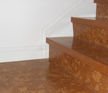 Cork floor inspection internachi for Is cork flooring good for basements