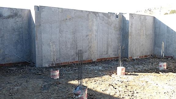 Visual inspection of concrete internachi for Poured concrete foundation walls
