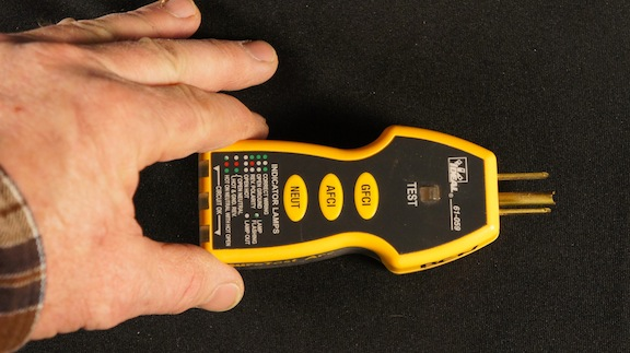 Ground Fault Indicator Testers : Home inspection equipment internachi