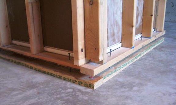 Bottom Plate To Slab : Visual inspection of concrete internachi