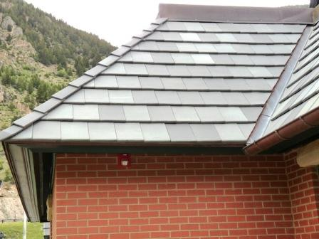 Flat Roof Tiles Pictures