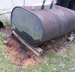 Home Heating Oil Tanks - InterNACHI