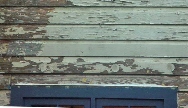 Wood siding inspection internachi for Types of wood siding for houses