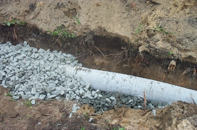 French Drain Inspection Internachi