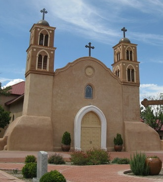 San Miguel Mission in Santa Fe, New Mexico