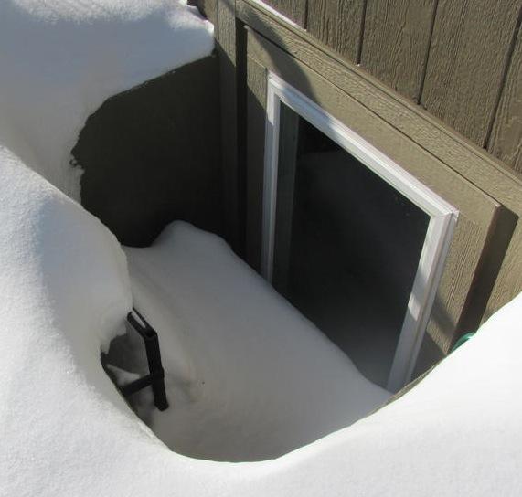 snow-well