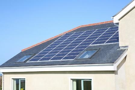 La energía solar es una elección muy buena.