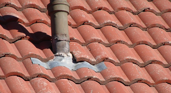 Flashing At Field Tiles, Such As That Used For Penetrations, Including  Plumbing Stack Pipes, Combustion Vents And Skylights, Is Often Bent To Fit  The ...