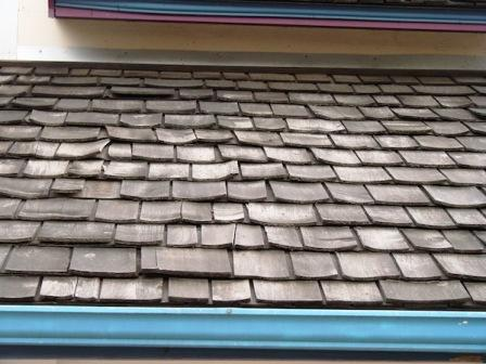 The Photo Above Shows A Wood Shingle Roof That Has Been Installed With  Interlayment That Has Reduced Its Ability To Dry, Resulting In Excessive  Distortion, ...