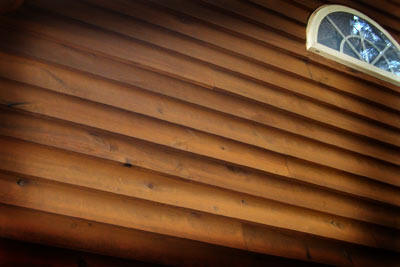 Wood siding inspection internachi for Types of house siding materials