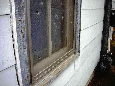 Screen Door Frame Repair