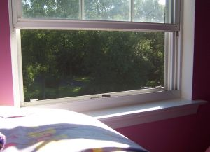 child safety open window