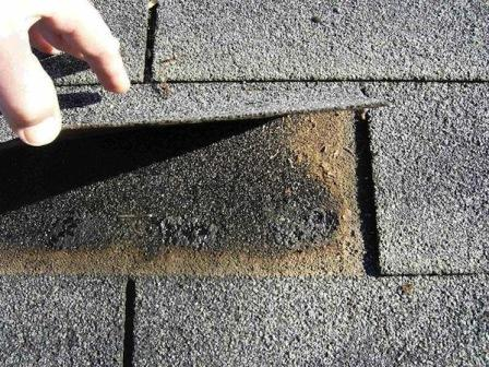 How To Glue Down Loose Roof Shingle Mastering Roof