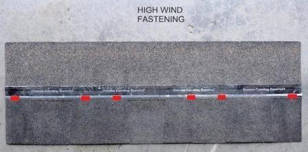 Laminated shingle high wind Asphalt Composition Shingle Fasteners