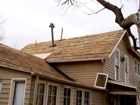 Help i recently bought an old row home and i need some for Osb thickness for roof