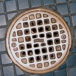 Seldom-used floor drains might lose their water barrier and permit sewer gases to enter the living space