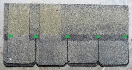heavy laminated shingle standard slope Asphalt Composition Shingle Fasteners