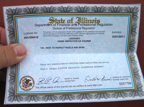 State Of Illinois Department Of Financial And Professional
