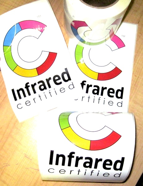 CLICK HERE to order your Infrared Certified truck decals.