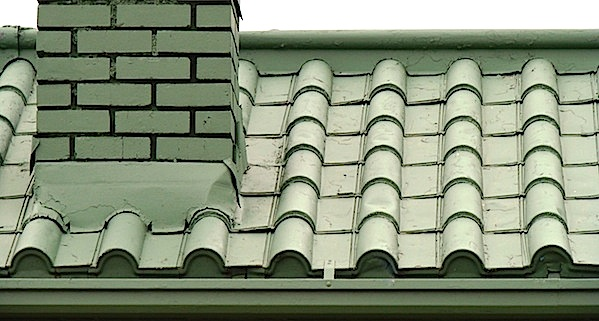 Mastering roof inspections metal roofs part 9 internachi for Metal roof that looks like spanish tile