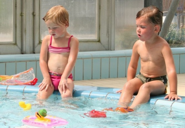 Children are common culprits in the spread of pathogens in pools.