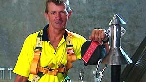 The Rojen Roof Safety Pole