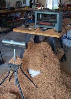 Sawdust is a hazard in some workplaces