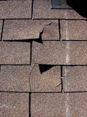 Image result for cracked shingles on roof