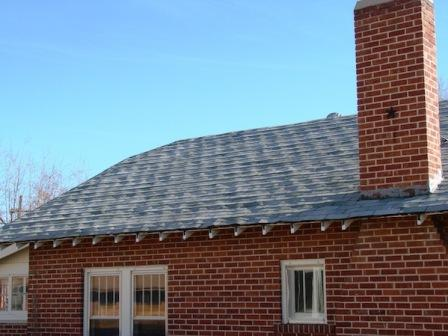 You Can Sometimes Spot Shingles Installed Over Wood From The Street Because  The Roof Looks Sort Of Lumpy.