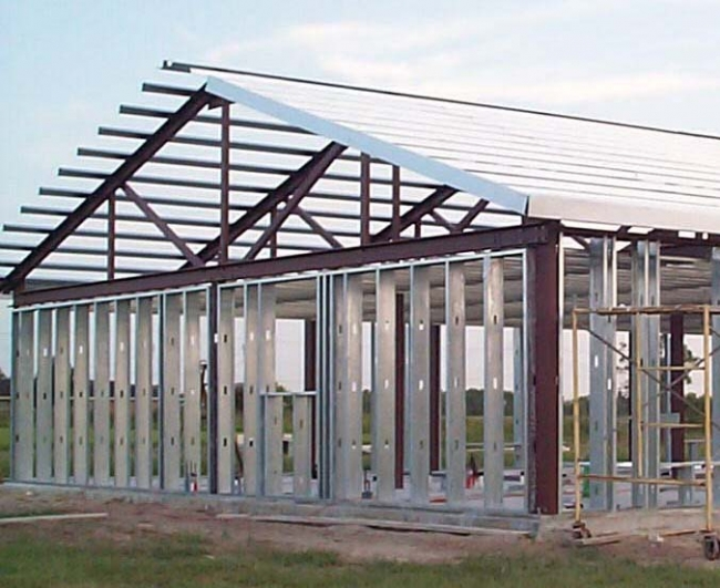 steel Steel Construction in Homes